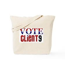 Vote Client 9 Tote Bag