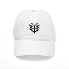 Proud to be Finnish [back print] Baseball Cap