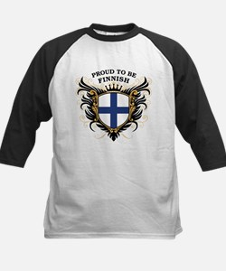 Proud to be Finnish [back print] Tee