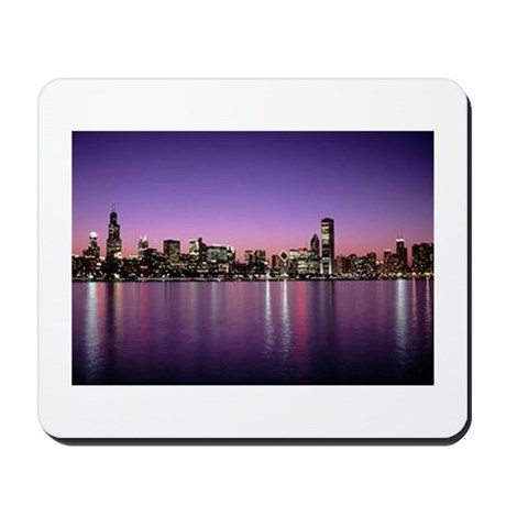 Chicago Nitetime Skyline Mousepad