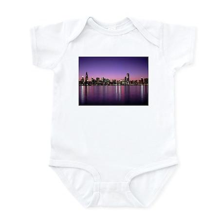 Chicago Nitetime Skyline Infant Bodysuit