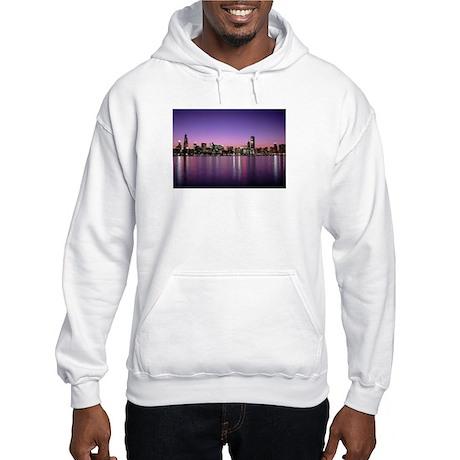 Chicago Nitetime Skyline Hooded Sweatshirt