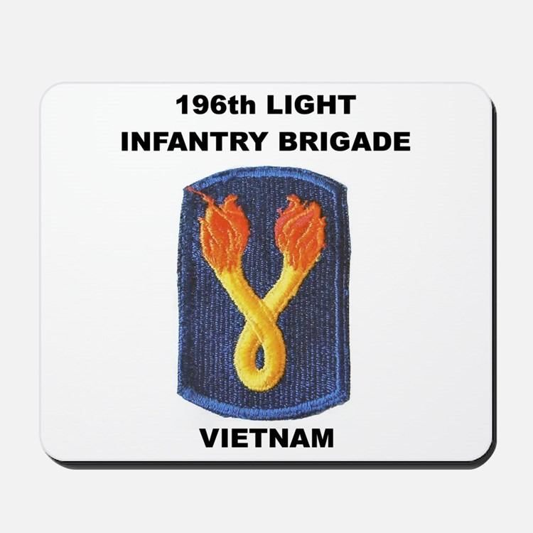 196TH LIGHT INFANTRY BRIGADE Mousepad