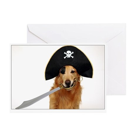 SNAPshotz Golden Pirate Captain Photo Card