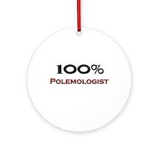 100 Percent Polemologist Ornament (Round)