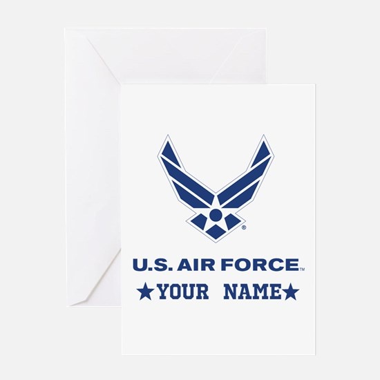 U.S. Air Force Personalized Gift Greeting Cards