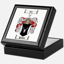 Parker Family Crest Keepsake Box