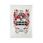Palmer Family Crest Rectangle Magnet (10 pack)