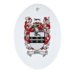 Palmer Family Crest Oval Ornament