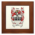Palmer Family Crest Framed Tile
