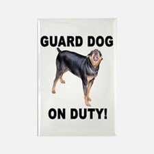 Helaine's GUARD DOG Rectangle Magnet (10 pack)