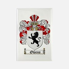Owens Family Crest Rectangle Magnet (10 pack)