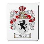 Owens Family Crest Mousepad