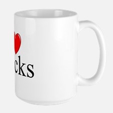 """I Love (Heart) Stocks"" Mug"