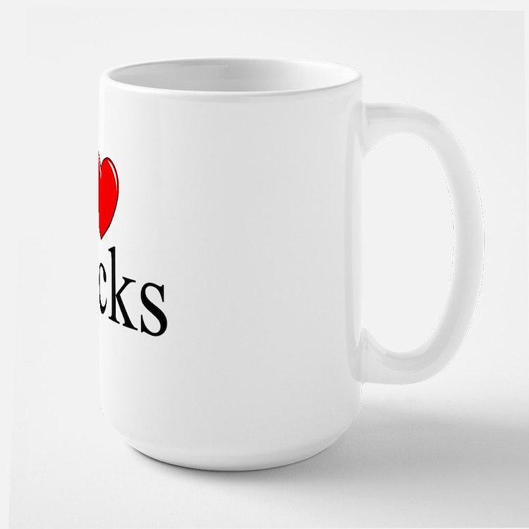 """I Love (Heart) Stocks"" Mug"