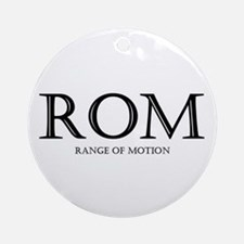 Range of Motion Ornament (Round)