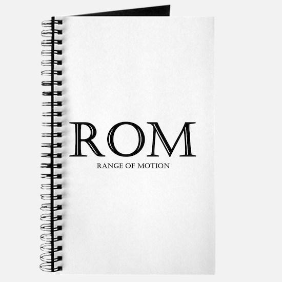 Range of Motion Journal