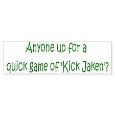 Kick Jaken 3 Bumper Bumper Sticker