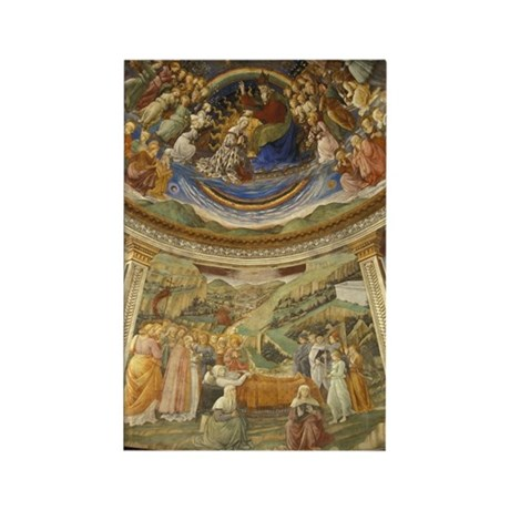 Grand View of Fresco Rectangle Magnet