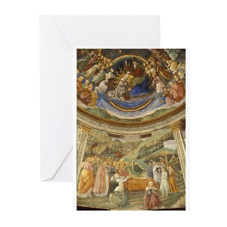 Grand View of Fresco Greeting Cards (Pk of 10)