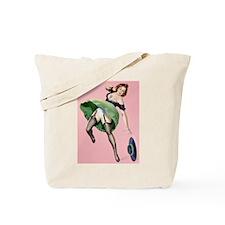 Lost Hat Girl Tote Bag