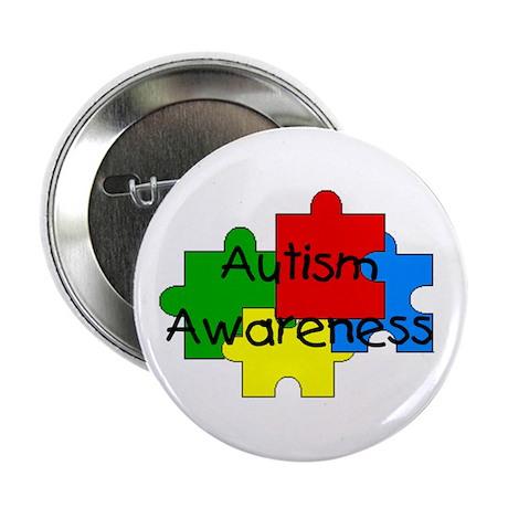 """Autism Awareness 2.25"""" Button (100 pack)"""