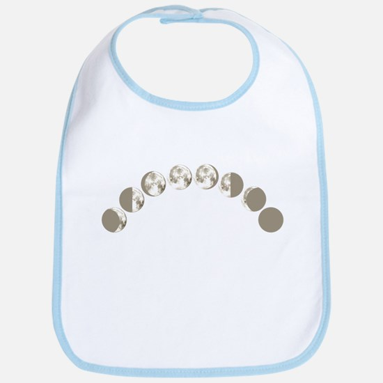 Phases of the Moon Bib