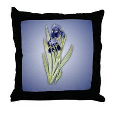 Redoute Iris Throw Pillow