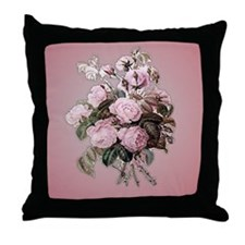 Primarily Pink! Redoute Pillow