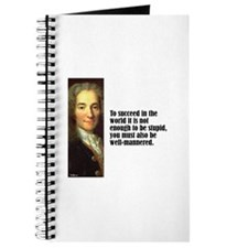 "Voltaire ""To Succeed"" Journal"