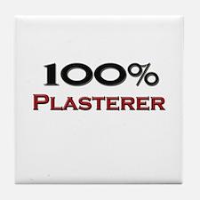 100 Percent Plasterer Tile Coaster