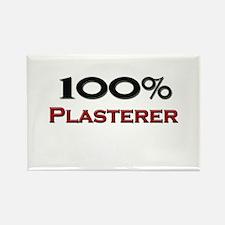100 Percent Plasterer Rectangle Magnet