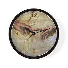 Hand of God Wall Clock