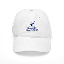 Real Men Wear Skirts Baseball Cap