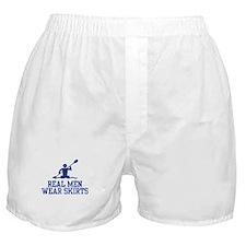 Real Men Wear Skirts Boxer Shorts