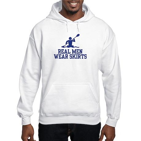 Real Men Wear Skirts Hooded Sweatshirt