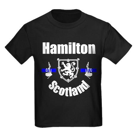 Hamilton Scotland Kids Dark T-Shirt