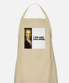 """Voltaire """"Witty Saying"""" BBQ Apron"""
