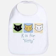 K is for Kitty Bib