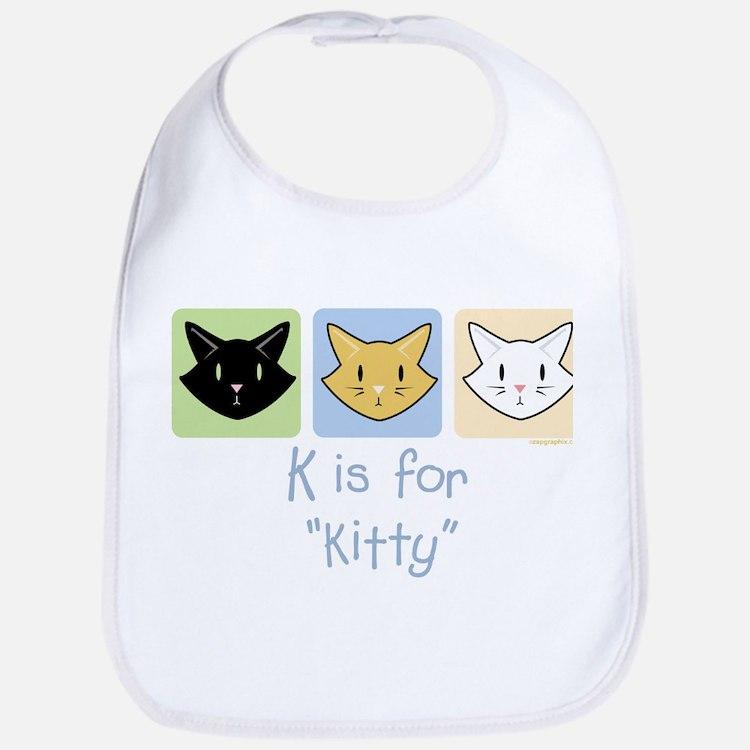 K is for Kitty Bib