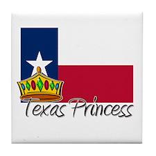 Texas Princess Tile Coaster