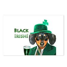 Black Irish Postcards (Package of 8)