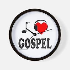 GOSPEL MUSIC Wall Clock