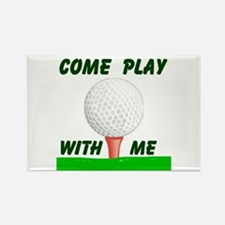 GOLFER Rectangle Magnet