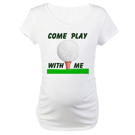 GOLFER Maternity T-Shirt