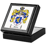 Ortiz Family Crest Keepsake Box