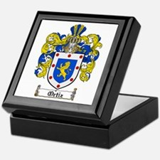 Ortiz Family Crest Keepsake Box
