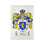 Ortiz Family Crest Rectangle Magnet (10 pack)
