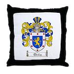 Ortiz Family Crest Throw Pillow