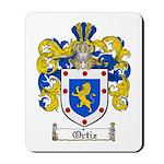 Ortiz Family Crest Mousepad